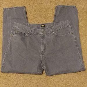 2 pair Lee jeans (gray) 40x30